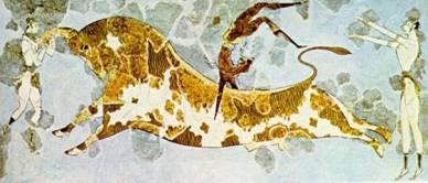 Equilibriste crétois (2400 av. J.-C.)